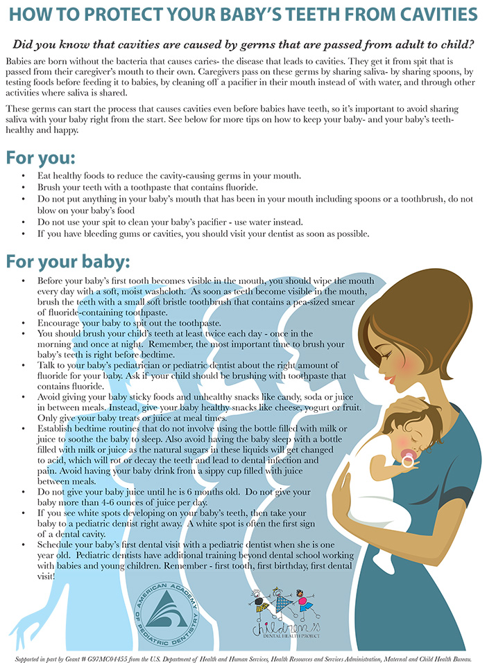 How to Protect Your Baby's Teeth from Cavities